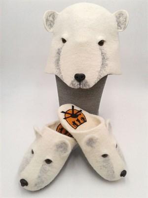 Тапки-Белый медведь - фото 4582