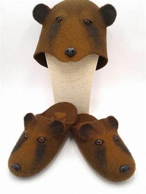 Тапки-Бурый медведь - фото 4586