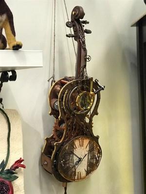 """Часы """"Скрипка"""" - фото 5007"""