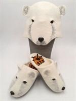 Тапки-Белый медведь