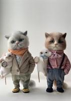 Кот с мышкой-2